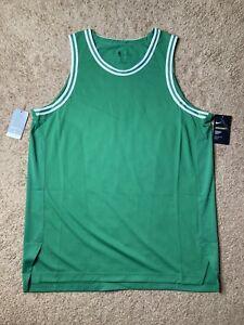 Nike AEROSWIFT NBA Green Blank Boston Celtics Jersey Size 52 XL AH8790-312 $200