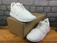 NIKE ROSHE ONE WHITE MESH RUNNING TRAINERS CHILDRENS LADIES RRP £58 T