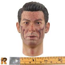 Dixon Combat Medic - Head (Bloody & Scarred) - 1/6 Scale - DID Action Figures