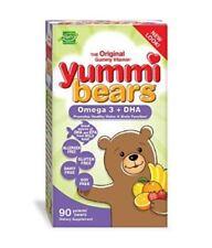 Yummi Bears Omega 3 + DHA Vitamin 90 Gummy Bears