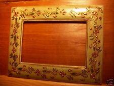 Cadre en bois peint , Inde , modele 2 / 2