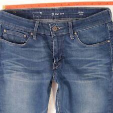 Damen Damen Levis leichte Curve Skinny Stretch Blau Jeans W28 L30 UK Größe 8
