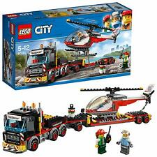 LEGO City Heavy Cargo Transport Set Lorry Truck Helicopter Building Construction