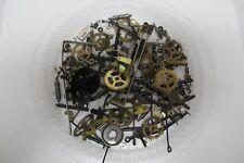 172 Grams~Steampunk*Crafts*Al tered Art*Asst Clock Parts~Brass Gears~Rods~Springs