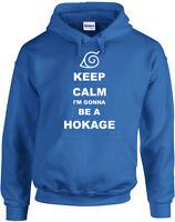 Keep Calm I'm gonna be Hokage, Anime Naruto Inspired Printed Hoody