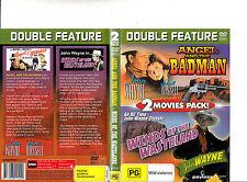 Angel And The Badman-1947/Winds of The Wasteland-1936-John Wayne-2 Movie-DVD
