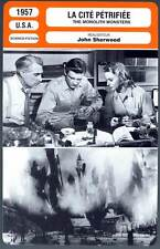 LA CITE PETRIFIEE - Williams,Sherwood(Fiche Cinéma) 1957 - The Monolith Monsters