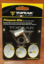 Topeak Pressure Rite Pump Adapter Bicycle Tubes/Shocks