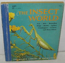 """""""The Insect World"""" Little Golden Book 1st Edition """"A"""" 1959"""
