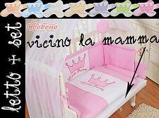 Culla neonato, agganciabile al letto di mamma è papà - disponibile in 7 colori