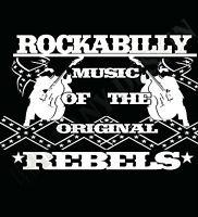 Rockabilly T-Shirt Rebels Rock & Roll Fifties Men's Women's Rockers Greasers