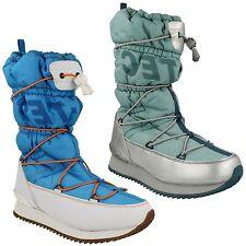 LADIES HI TEC WATERPROOF THERMAL WINTER OUTDOOR BLUE SNOW BOOTS NEW MOON 200