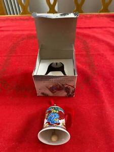 ROSENTHAL Weihnachtsglocke Glocke Jahresglocke 1995 OVP