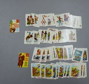 Vintage 1967 Ed-u-Cards Daniel Boone And Cowboys And Indians Mini Card Games