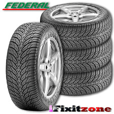 4 Federal Couragia S/U 275/55R20 117V All Season Performance Tires 275/55/20 NEW