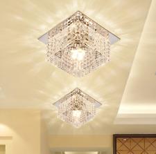 3W Warm White Crystal LED Ceiling Lamp Fixtures Ceiling Lighting Corridor Light