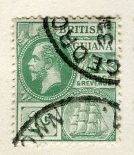 BRITISH GUIANA; 1913-21 early GV issue fine used 1c. value