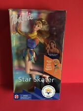 VTG BARBIE STAR SKATER 2002 OLYMPIC WINTER GAMES MICHELLE KWAN DOLL IN BOX New