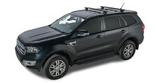 Rhino Roof Racks FORD EVEREST Black 2 Bar Roof Rack - JA8145