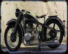 Bmw R 17 A4 Metal Sign Motorbike Vintage Aged