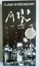 CLASH ON BROADWAY 3 CD BOX SET Book Punk  Rock Band