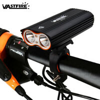 USB Rechargeable Bicycle Front Light 1600 Lumens Bike Light Headlamp 4Modes Lamp