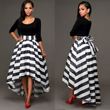 Sexy Women Ladies Prom Ball Cocktail Party Long Dress Formal Evening Party Gown