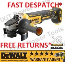 DeWALT DCG405N 18V XR Brushless Cordless Compact Angle Grinder 125mm Bare Unit N