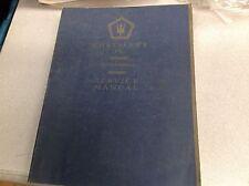 1988 1989 Chrysler TC MASERATI Service Shop Repair Workshop Manual BRAND NEW
