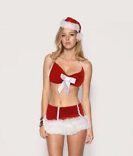 Sexy costumes Xmas Christmas CLUB SKIRT Party DANCE Uniform dress Lingerie