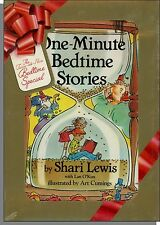 Shari Lewis - One Minute Bedtime Stories - New Book & Video Set! Twice as Nice!