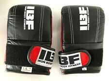 IBF Iron Body Fitness MMA Boxing Sparring Gloves Size L
