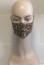 Leopard Print women's fashion face mask