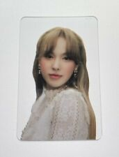 WENDY LIKE WATER OFFICIAL TRANSPARENT PHOTOCARD RED VELVET
