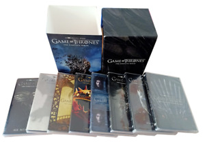 GAME OF THRONES COMPLETE SERIES SEASONS 1-8(DVD,38-Disc Set)Brand New Seal
