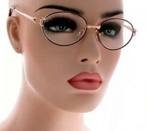 NWT Women Reading Glasses Virginia Classic Metal Round Vintage Frame