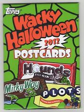 2012 Topps Wacky Halloween Postcards Series 7 Factory Sealed Set