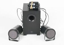 Altec Lansing 2.1 Speaker Sub-Woofer System Bx1221 PC MP3 3pcs; UN 607979