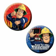 Fireman Sam Badges 6 Per Pack