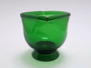 Große Empoli Verde Vase oder Schale, Italien 50er Jahre