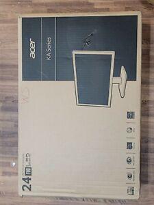 "Acer KA0 KA240H 24"" LCD Computer PC Monitor UM.FX0AA.007 Brand New!"