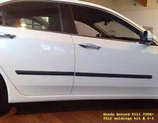 Car Door Guard Molding Cover Trim Body Side Mouldings Fit Honda Accord 2008-2013