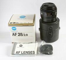 Minolta AF 28mm F2.8 lens (Sony A mount)