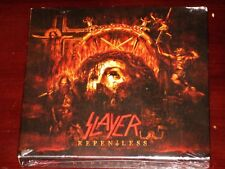 Slayer: Repentless - Limited Deluxe Edition CD + Blu Ray Set 2015 Bonus Disc NEW