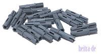 LEGO Technik - 20 x Achs Pin dunkelgrau 3 Noppen mit Achse 1L / 11214 NEUWARE
