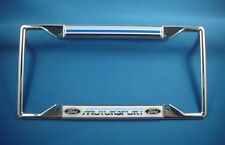 Ford Motorsport Chrome License Plate Frame
