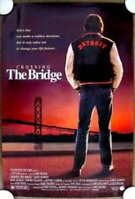 CROSSING THE BRIDGE  Original (1992) Rolled 27x40 Movie Poster ~ MINT CONDITION!