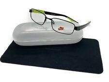 NIKE Eyeglasses 5572 010 Satin Black 49MM