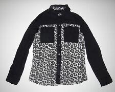 New Hurley Womens Wilson Novelty Long Sleeve Woven Shirt Top Blouse Small