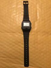 Casio Databank Vintage Phone Dialler. Casio DBA-80 Watch. From 1987.Japan.